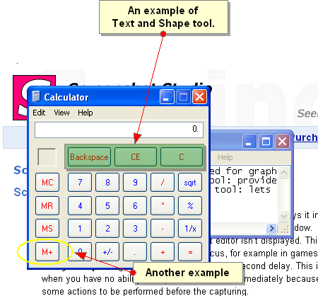 Text and Shape tool